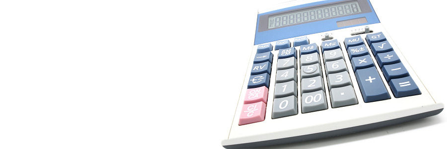 Calculator illustrating financial summaries for the South of England mailbox Licence
