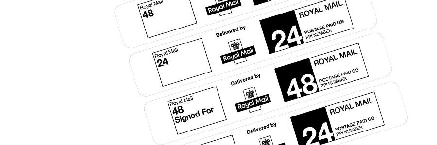 Royal Mail PPI postage labels - included in the South of England licence package