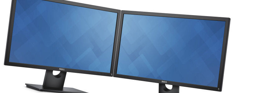Dual monitors, part of the South of England Mail Centre licence package