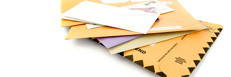 Letters and mail in the South of England Mail Centre